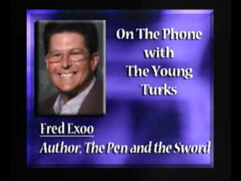 Calvin Fred Exoo on the phone with far-left media outlet The Young Turks.